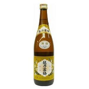 越乃寒梅 普通酒 白720ml  (センター便)|sesohl