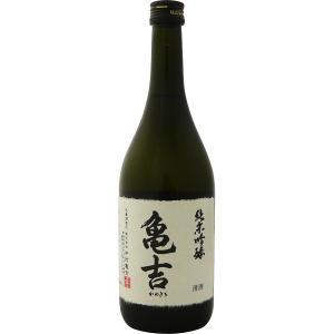 亀吉  純米吟醸 720ml(センター便)|sesohl