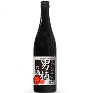 サッポロ 男梅の酒 15° 720ml 瓶 720ML / 1本|sesohl