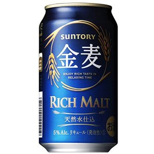サントリー 金麦 350ml缶×24本 sesohl