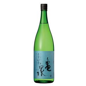 亀泉 純米吟醸生原酒高育63号 1.8L高知県・土佐 クール便対応|sesohl