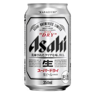 アサヒ スーパードライ 350ml缶×24本 sesohl