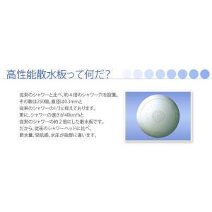 アラミック シルクタッチシャワー (ホワイト) STWT-24N|sessuimura|05