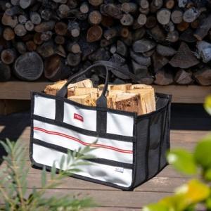 ファイヤーサイド ファイヤーホースキャリー おしゃれ キャンプ アウトドア グランピング ロースタイル キャンプ用品 焚火 薪ストーブ道具|sessuimura