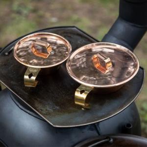 コッパーシェラカップ リッド 300 品番92327 銅製 薪ストーブ 直火対応 日本製  キャンプ アウトドア 焚火 カッパー コーヒー キャンプ用品|sessuimura