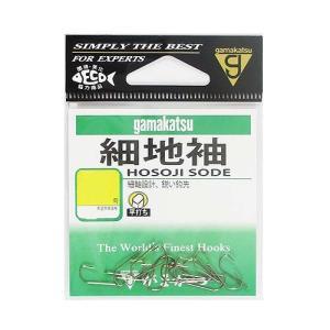 がまかつ 細地袖 茶 2.5号(10袋) sessya