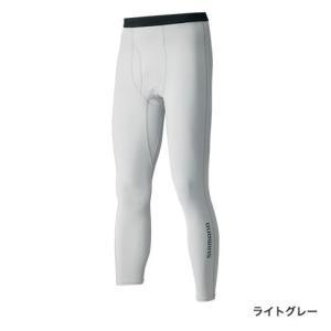 シマノ SUN PROTECTION タイツ IN-065Q ライトグレー Lサイズ|sessya