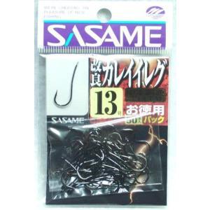ササメ 改良カレイイレグ徳用ブラック50本入り 12号|sessya