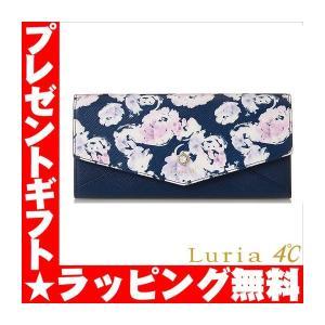 Luria4℃ ルリアヨンドシー 財布 レディース ローズプリント 321817330001|sestyle