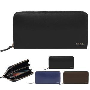 ポールスミス Paul Smith 財布 長財布 ラウンドフ...