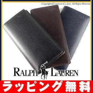 ラルフ ポロ ラルフローレン 財布 かぶせ長財布|sestyle