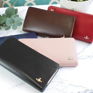 ヴィヴィアン ウエストウッド 財布 がま口 長財布 レディー...