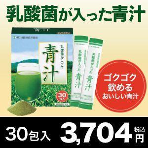 【世田谷自然食品公式】乳酸菌が入った青汁30包入...