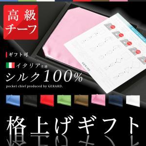 ポケットチーフ シルク イタリアチーフ ギフトボックス付き チーフ ギフト シルク 無地 日本製 結婚式 パーティー|sete-luz
