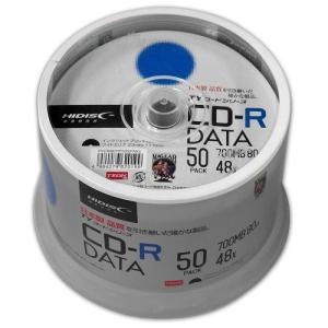 HiDiSC (TEON) TYCR80YP50SPMG CD-R ワイド白プリンタブル 50枚スピンドルバルク