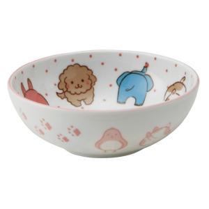 和食器 子ども用食器 / アニマルフェイス UK40鉢 寸法:Φ12 x 4.5cm setomono-honpo