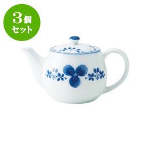 3個セット 急須 和食器 / 藍つづり ポット急須II 寸法:18 X 11 X 10.5cm 465cc 日本製 国産 setomono-honpo