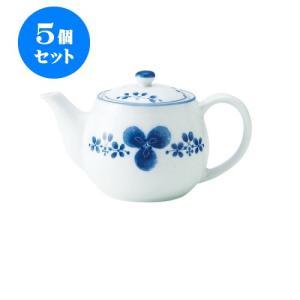5個セット 急須 和食器 / 藍つづり ポット急須II 寸法:18 X 11 X 10.5cm 465cc 日本製 国産 setomono-honpo