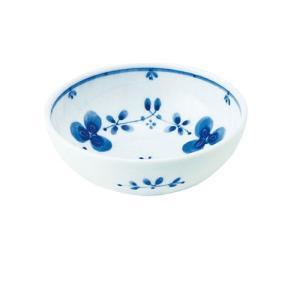 小鉢 和食器 / 藍つづり UK四〇小鉢 寸法:直径12 X 4.5cm 日本製 国産 setomono-honpo