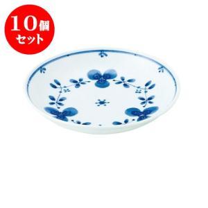 10個セット 中皿 和食器 / 藍つづり UK五〇皿 寸法:直径16.5 X 3.5cm 日本製 国産|setomono-honpo