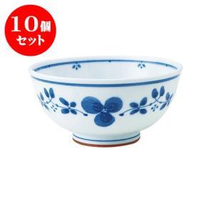 10個セット 丼 和食器 / 藍つづり UK丼 寸法:直径16.5 X 8cm 日本製 国産 setomono-honpo