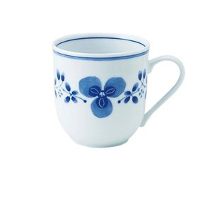 マグカップ 和食器 / 藍つづり UKマグ 寸法:11.5 X 8.5 X 8.5cm 325cc 日本製 国産 setomono-honpo