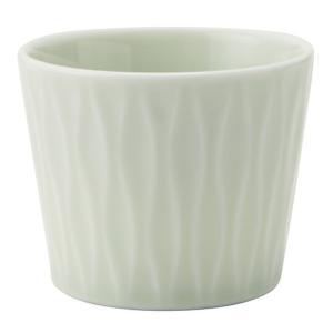 和食器 ロックカップ / アヤ(ヒワ) 立涌ロックカップ 寸法:Φ8 x 6.5cm 200cc|setomono-honpo