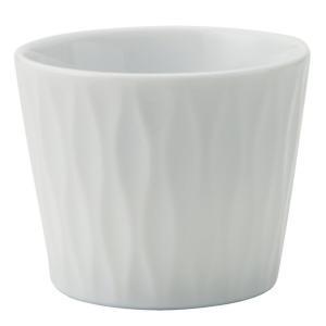 和食器 ロックカップ / アヤ(白) 立涌ロックカップ 寸法:Φ8 x 6.5cm 200cc|setomono-honpo
