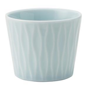 和食器 ロックカップ / アヤ(青磁) 立涌ロックカップ 寸法:Φ8 x 6.5cm 200cc|setomono-honpo