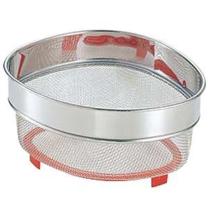 衛生用品 厨房用品 / (AAA) 18-8半アミ三角コーナー 深型 寸法: 220 x 163 x H120mm|setomono-honpo
