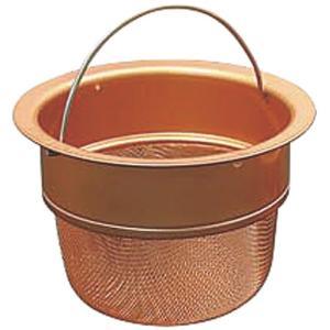 衛生用品 厨房用品 / 銅ゴミポケット 深型 寸法: 133 x 93 x H98mm|setomono-honpo