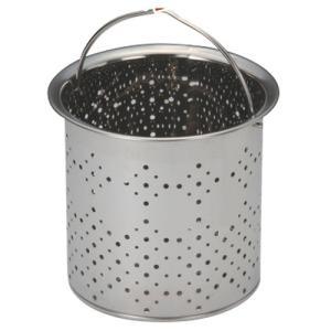 衛生用品 厨房用品 / 抗菌ステンレス排水口ゴミ受け 深型 CK-113 寸法: Φ134 x H125mm|setomono-honpo