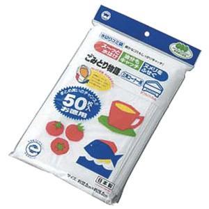 衛生用品 厨房用品 / ごみとり物語 三角コーナー用 50枚入 寸法: 320 x 260mm|setomono-honpo
