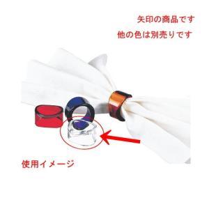 テーブルウェア 厨房用品 / UKナフキンリングオーロラ(4P) クリア 寸法: Φ44 x H27...