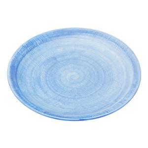 大皿 和食器 / (強)ごす巻黄マット(布目)10.0丸皿 寸法: Φ30.5 x H3cm 1100g|setomono-honpo