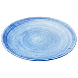 丸盛皿 和食器 / (強)ごす巻黄マット(布目)9.0丸皿 寸法: Φ27 x H2.5cm 900g|setomono-honpo