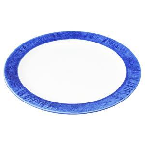 丸盛皿 和食器 / (強)ごす巻(リム付) 8.5丸皿 寸法: Φ26 x H2.5cm 750g|setomono-honpo