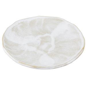 大皿 和食器 / 乳白 9.0丸皿 寸法: Φ27.5 x H2.5cm 1000g|setomono-honpo