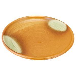 大皿 和食器 / 伊賀灰釉 8.5玉渕丸皿 寸法: Φ25.5 x H3.5cm 840g|setomono-honpo