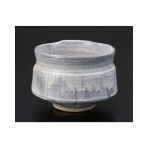 茶道 / 抹茶碗 粉引春草作 寸法:11 x 8.5cm|setomono-honpo