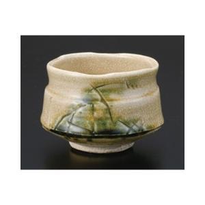 茶道 / 抹茶碗 黄瀬戸春草作 寸法:10.7 x 8.5cm|setomono-honpo