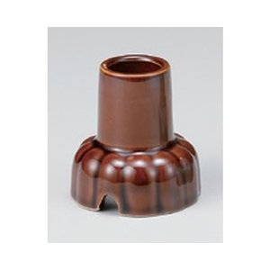 仏具 / 雑器 茶線香立 寸法:5.5 x 5.8cm|setomono-honpo