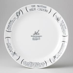☆ カフェスタイル ☆ HERB GARDEN 9吋ミート皿 [ 24.7 x 3cm 492g ]...