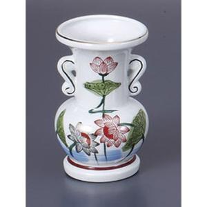仏具 5.5玉仏花瓶 [10.3 x 16.5cm]  仏具 神具 供養 お墓 仏壇 お盆 お彼岸|setomono-honpo