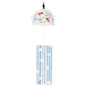 風鈴づくし 薫風風鈴(金魚) [高さ 5.5cm] [ガラス] setomono-honpo