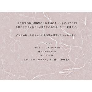 【送料無料】ガラス鉢 そばセット|setomono-honpo|07