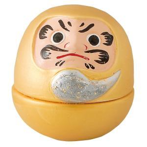 起き上がり ダルマ(金) [ 5.8 x 5.3 x 5.7cm ] 【 置物 】 | 置物 縁起物 お祝い 贈り物 日本土産|setomono-honpo