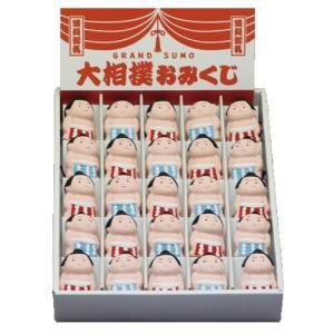 おみくじ セラみくじ 相撲 25個セット展示箱入 [35 x 27 x 49mm]|setomono-honpo