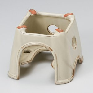 [ 11.5 x 11.5 x 12cm ] 陶器 マレーシア製 商品によっては手造りのため、写真と...