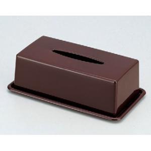 ホテルグッズ (大)ティッシュボックス(深型) [30.8 x 17.5 x 10.3cm] ABS樹脂 (7-902-10) 料亭 旅館 和食器 飲食店 業務用|setomono-honpo